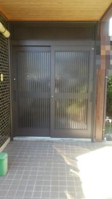 Rechent(リシェント) 玄関ドア 施工工事